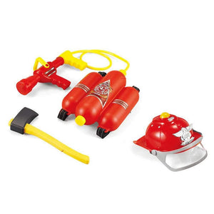 Firefighter Dress Up Set with Water Sprayer Backpack