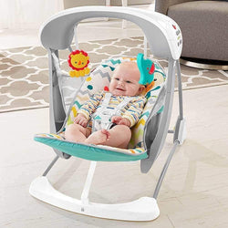 Fisher Price Colourful Carnival Take-Along Swing & Seat