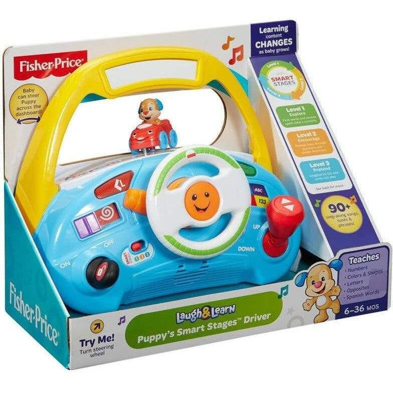 Fisher Price Fisher Price Laugh and Learn Puppy Smart Stages Driver - Buy Online