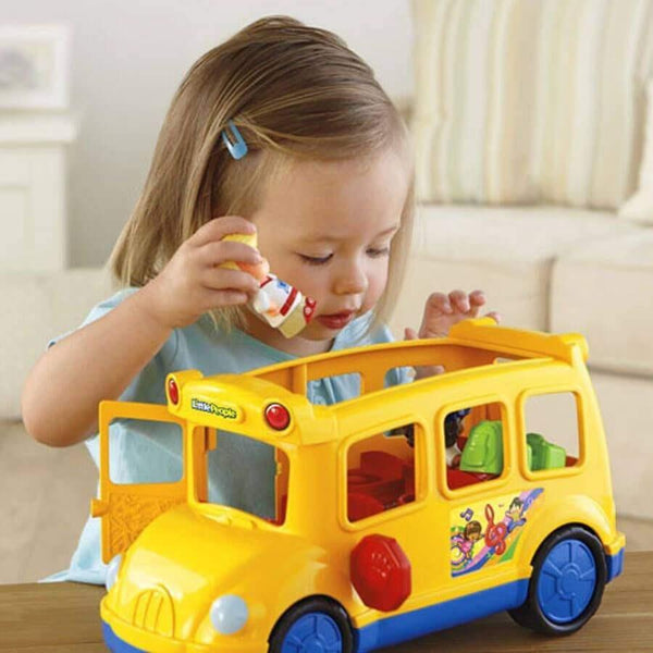 Buy Fisher Price Little People Lil Movers School Bus Online at Toy ...