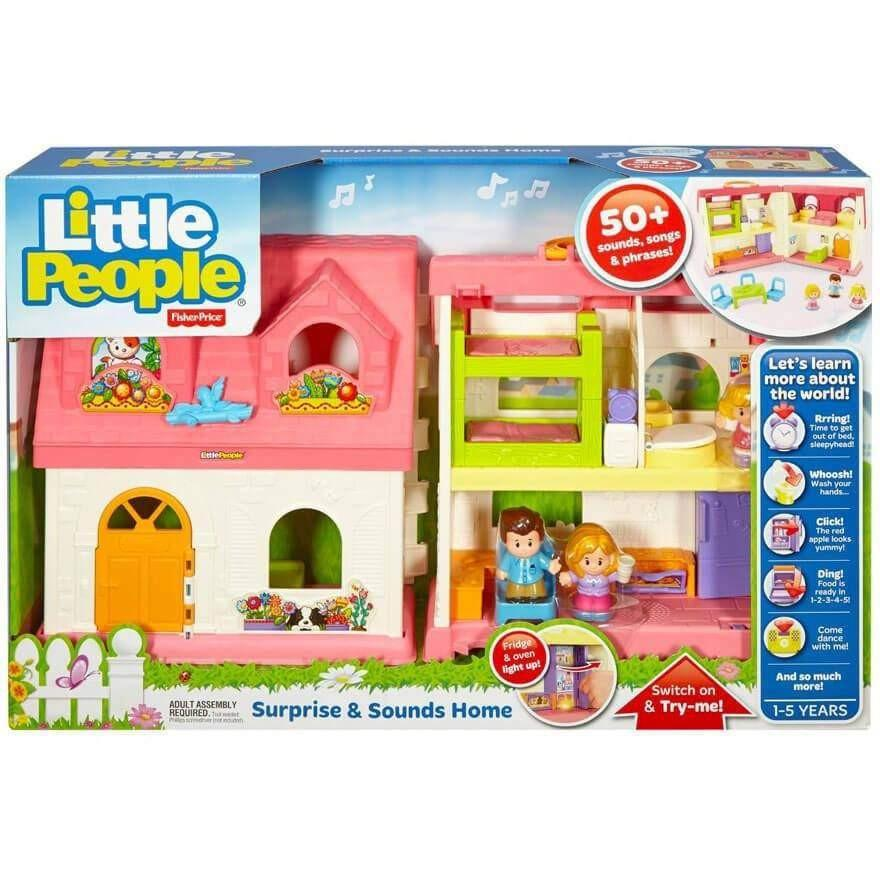 Buy Fisher Price Little People Surprise And Sounds Home Online At