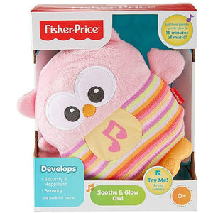 Fisher Price Soothe and Glow Owl in Pink