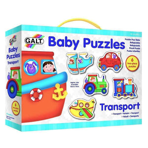 Galt Baby Puzzles Transport - 6 Puzzle Box