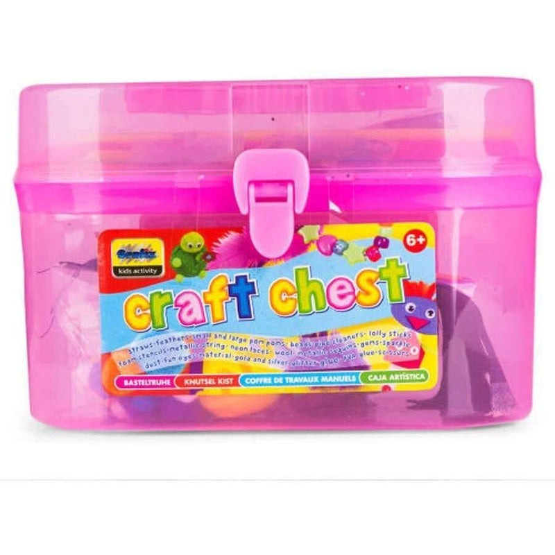 Toy Universe Brands Giant Craft Chest - 250 Craft Pieces - Buy Online