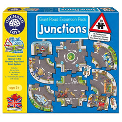 Giant Road Expansion Pack Junctions 8pc by Orchard Toys