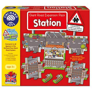Giant Road Expansion Pack Stations 8pc by Orchard Toys