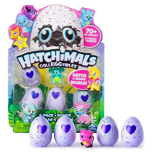 Hatchimals Colleggtibles - 4 Pack + Bonus