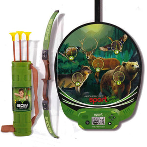 Hunting Archery Over the Door Set with Electronic Scoring