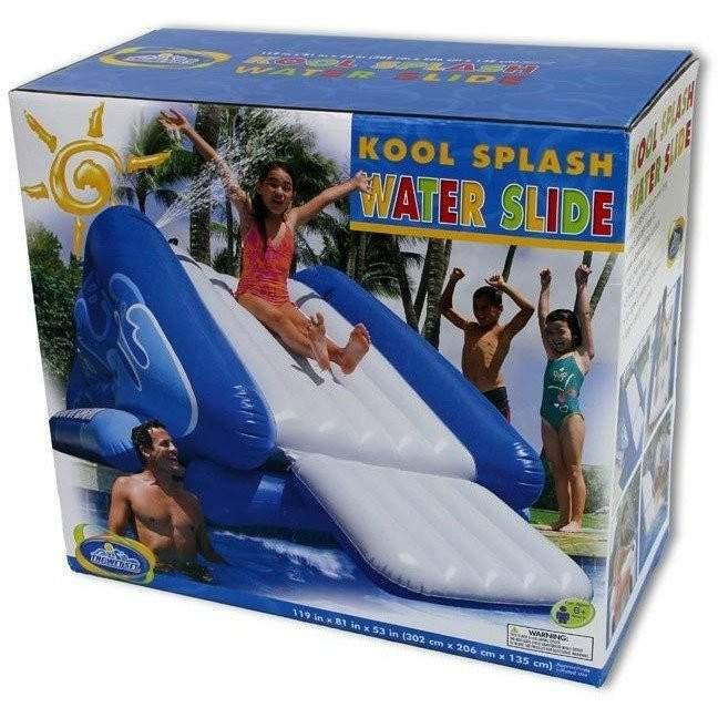 Giant Inflatable Pool Water Slide Easy To Blow Up Toy
