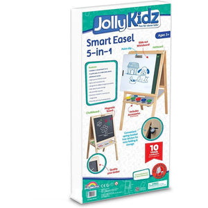 Jolly Kidz Smart 5 in 1 Easel