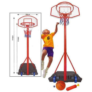King Sports Basketball Hoop Set with Adjustable Height