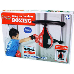King Sports Boxing Ball Door Set with Electronic Scoring