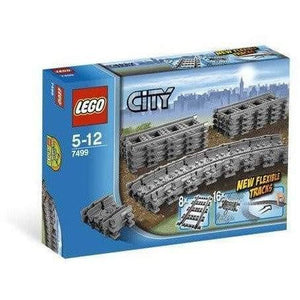 LEGO City Flexible and Straight Tracks - 7499