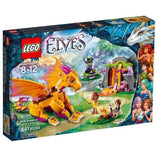 LEGO LEGO Elves Fire Dragons Lava Cave 41175 - Buy Online