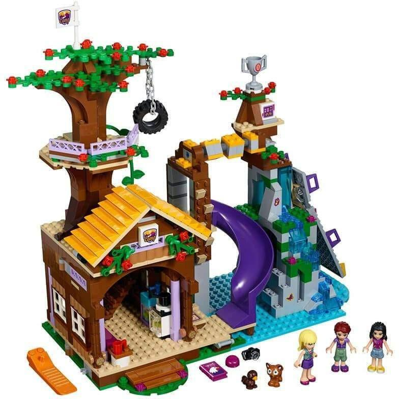 LEGO LEGO Friends Adventure Camp Tree House 41122 - Buy Online