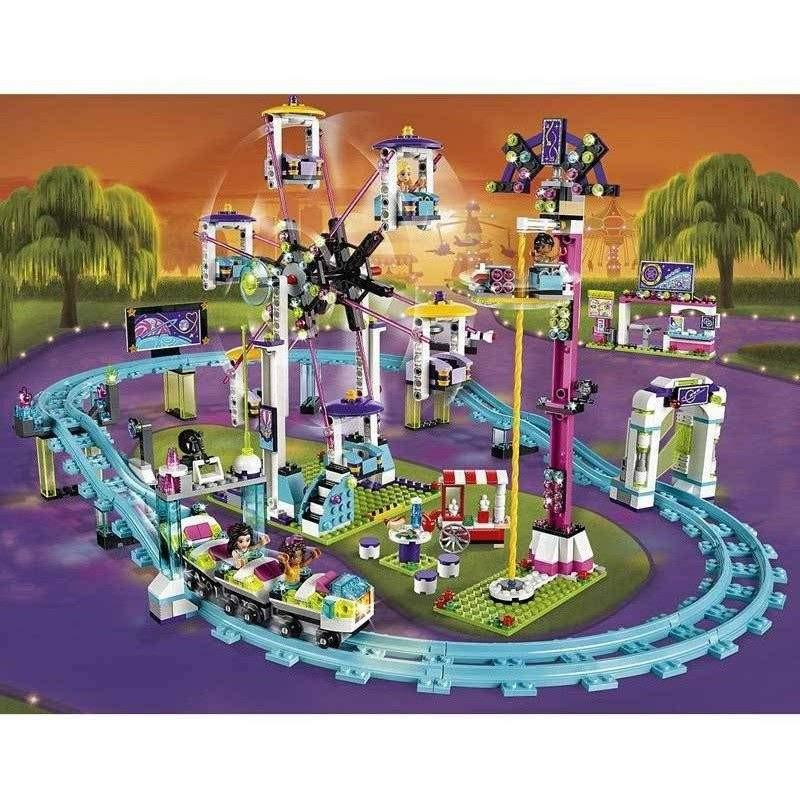 LEGO LEGO Friends Amusement Park Roller Coaster 41130 - Buy Online