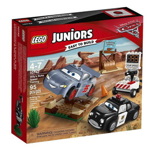 LEGO Juniors Cars 3 Willy's Butte Speed Trainin - 10742