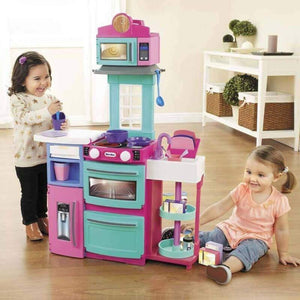 Little Tikes Cook N Store Kitchen - Pink