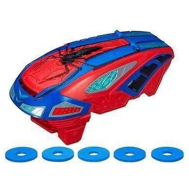 Buy Marvel Amazing SpiderMan 2 Motorized Spider Force Web Blaster Online at Toy Universe