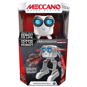 Meccano Robot Building Micronoid Red Socket Set