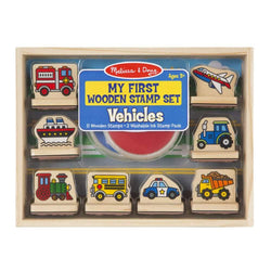 Melissa & Doug - My First Vehicle Stamp Set