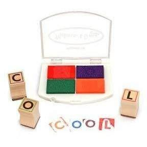 Buy Melissa and Doug Alphabet Stamp Set Online at Toy Universe