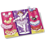 Melissa and Doug Melissa and Doug Ballerina Dress Up Peg Puzzle - Buy Online