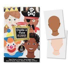 Buy Melissa and Doug Create-A-Face Sticker Pad - 40 Faces Online at Toy Universe