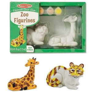 Melissa and Doug Decorate Your Own Zoo Figurines