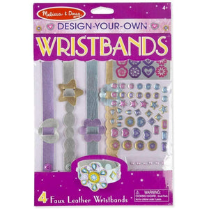 Melissa and Doug Design Your Own Leather Wristbands