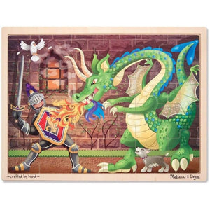 Melissa and Doug Dragon Wooden Jigsaw - 48 Piece