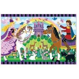 Melissa and Doug Fairy Tale Friendship Floor Puzzle - 24 Piece