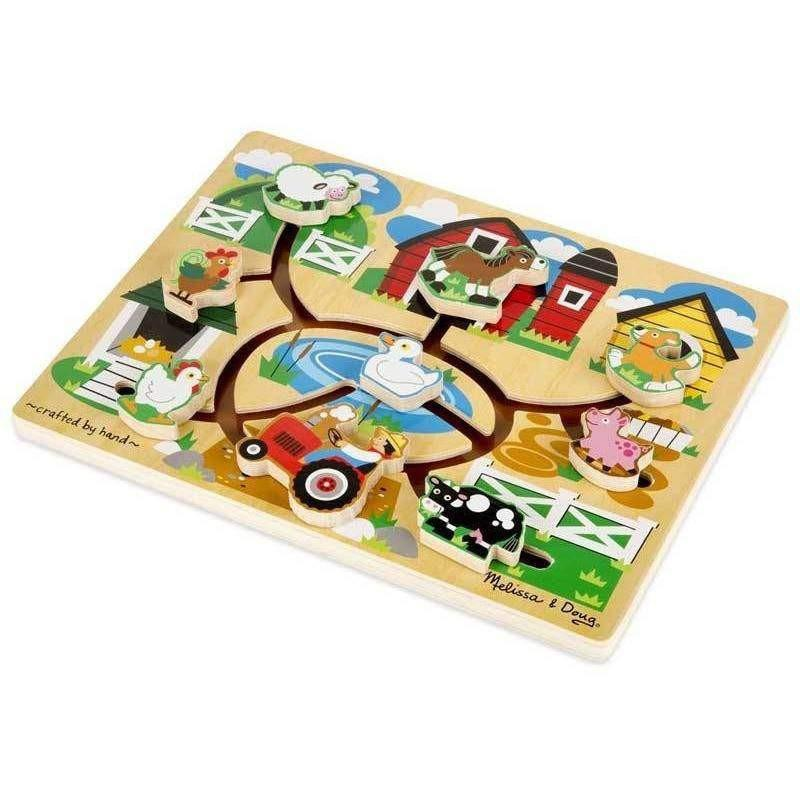 Melissa and Doug Melissa and Doug Farm Maze Puzzle - Buy Online
