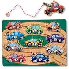 Melissa and Doug Magnetic Towing Game