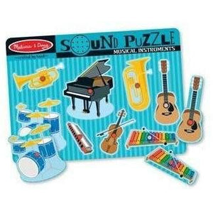 Melissa and Doug Musical Instruments Sound Puzzle - 8 Piece