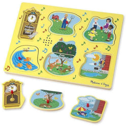 Melissa and Doug Nursery Rhyme Sound Puzzle - 6 Pieces