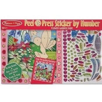 Buy Melissa and Doug Peel and Press Sticker - Flower Garden Fairy Online at Toy Universe