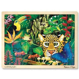 Melissa and Doug Rainforest Jigsaw - 48 Piece