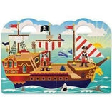 Melissa and Doug Melissa and Doug Reusable Puffy Sticker Play Set - Pirate - Buy Online