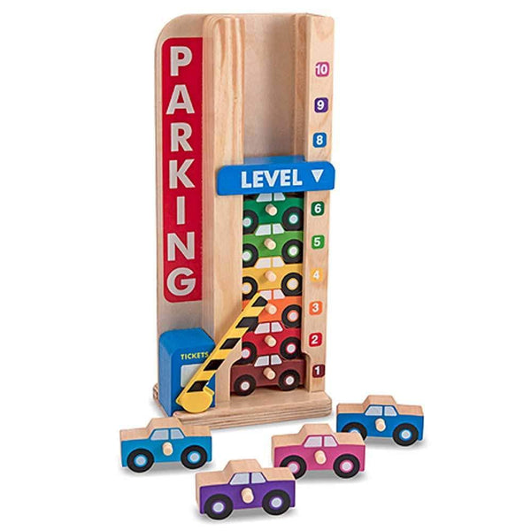 Buy Melissa and Doug Stack & Count Parking Garage Online at Toy Universe