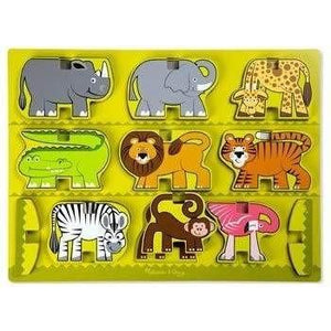 Melissa and Doug Stacking Safari Chunky Puzzle