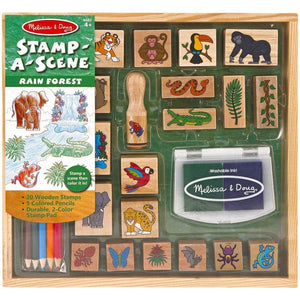 Melissa and Doug Stamp A Scene - Rainforest