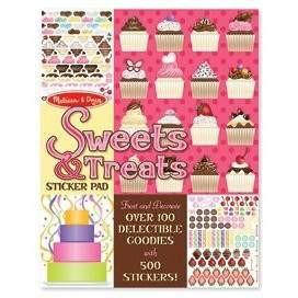 Melissa and Doug Melissa and Doug Sweets and Treats Sticker Pad - Buy Online
