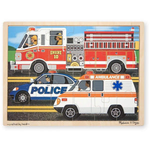 Melissa and Doug To the Rescue Jigsaw - 24 Piece
