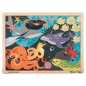 Melissa and Doug Under the Sea Jigsaw - 24 Piece