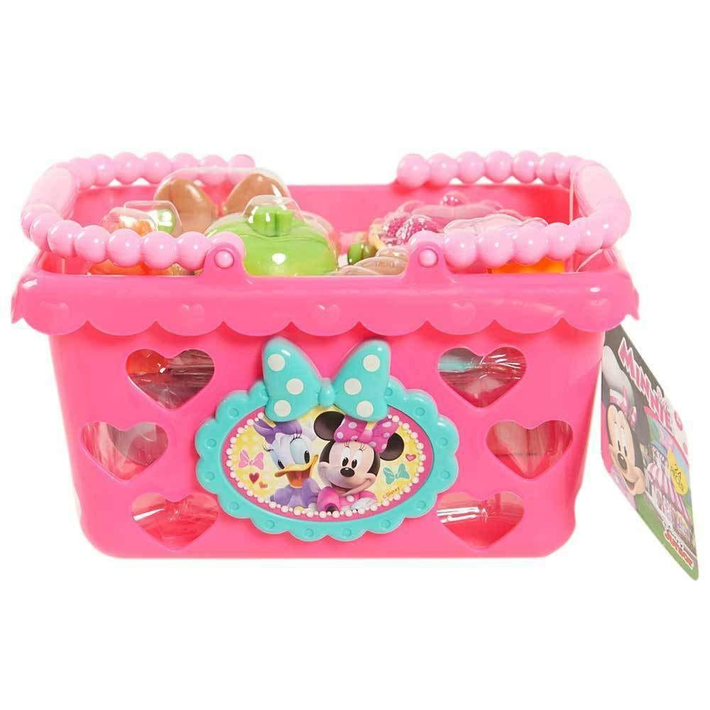 Buy Minnie Mouse Bowtastic Shopping Basket Online At Toy Universe