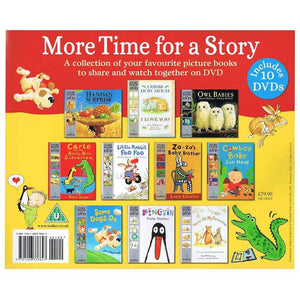 More Time for a Story 10 Book and DVD Gift Set