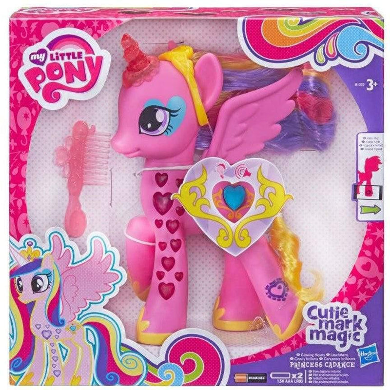 My Little Pony My Little Pony Cutie Mark Magic Glowing Hearts Princess Cadance Figure - Buy Online