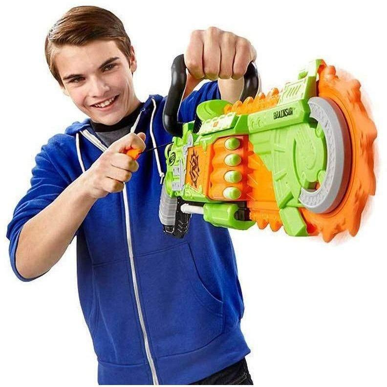 Nerf Zombie Strike Brainsaw Blaster Image 3 of 11