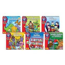 Orchard Toys Mini Games Value Bundle - 6 Games